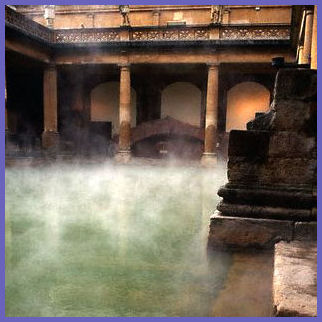 West End of the Great Bath, Roman Baths