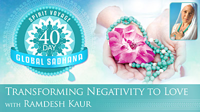 Transforming Negativity into Love