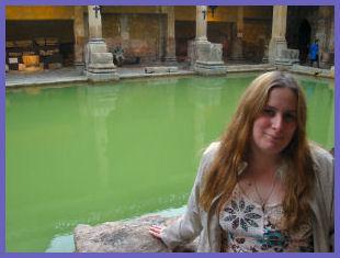 Vera Nadine, At the Roman Baths