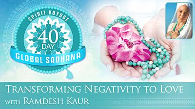 Transforming Negativity into Love